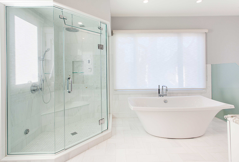 White Bathroom Renovation