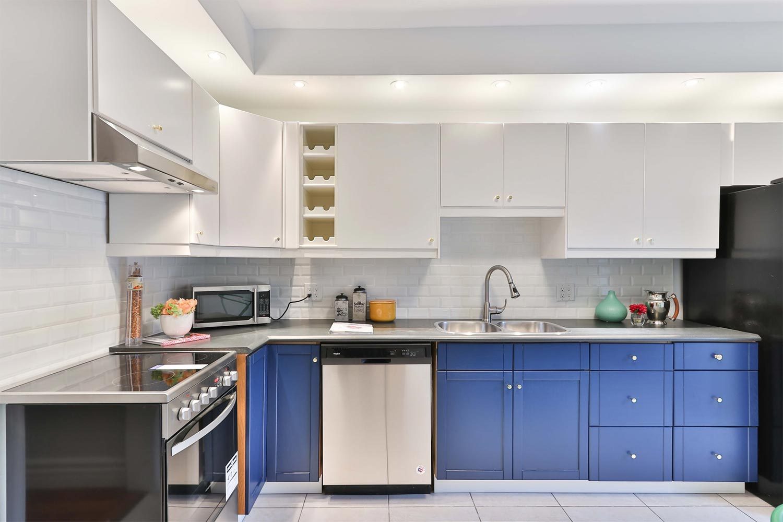 A Kitchen With Plenty Of Storage Space