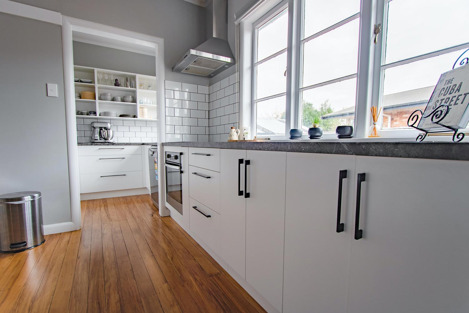 A Kitchen With The Classical Look