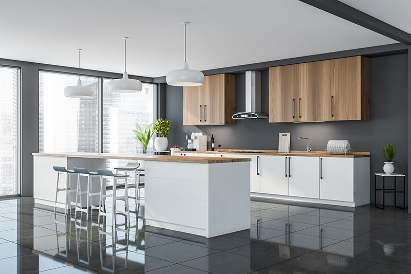 Tile Flooring as One of 2021 Kitchen Flooring Trends
